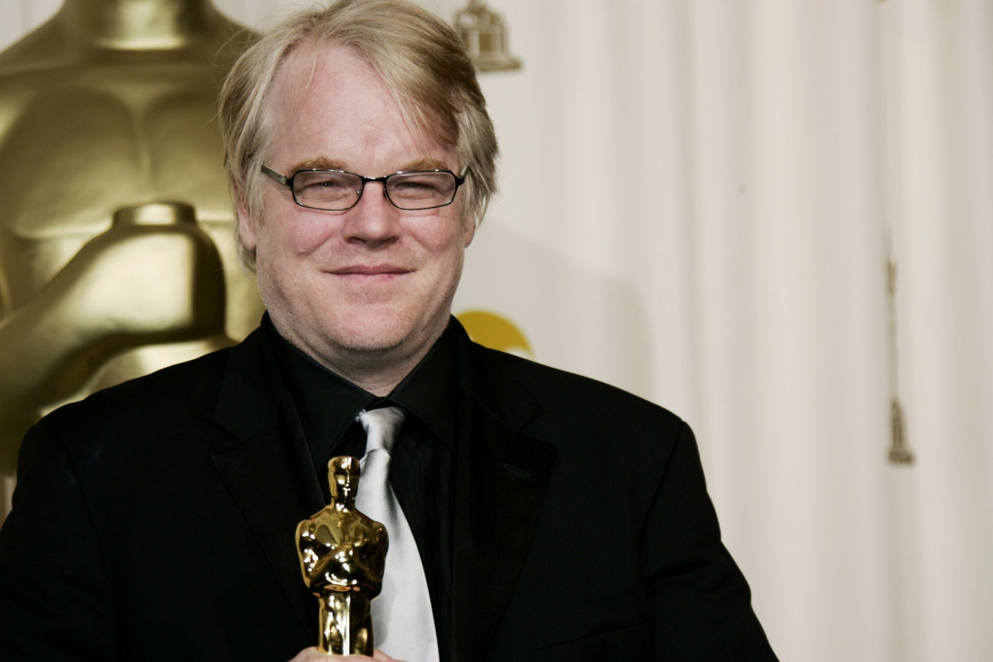 Philip Seymour Hoffman Winning an Oscar for Best Actor