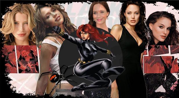 Black Widow Actresses