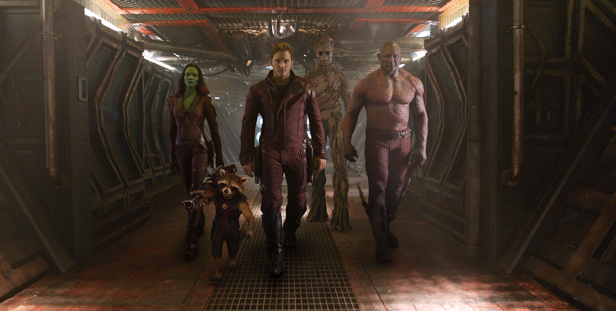 Guardians of the Galaxy Features Well-Known Actors