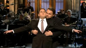 Leonardo DiCaprio and Jonah Hill on Saturday Night Live Doing a Titanic Scene