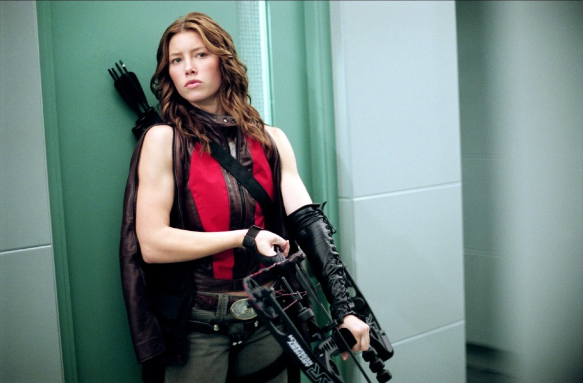 Jessica Biel as Black Widow